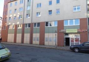 коммерческая недвижимость, супермаркет, парковка, центр города, Хемниц, Саксония, Германия, аренда